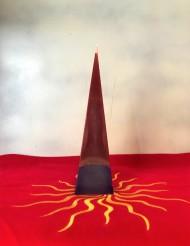 piramide rossa viola